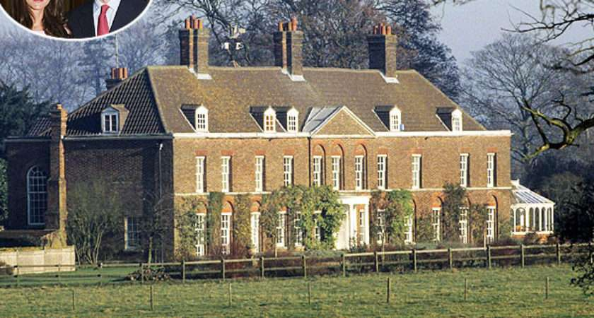Kate Anmer Hall Prince William Wife Plans Interior
