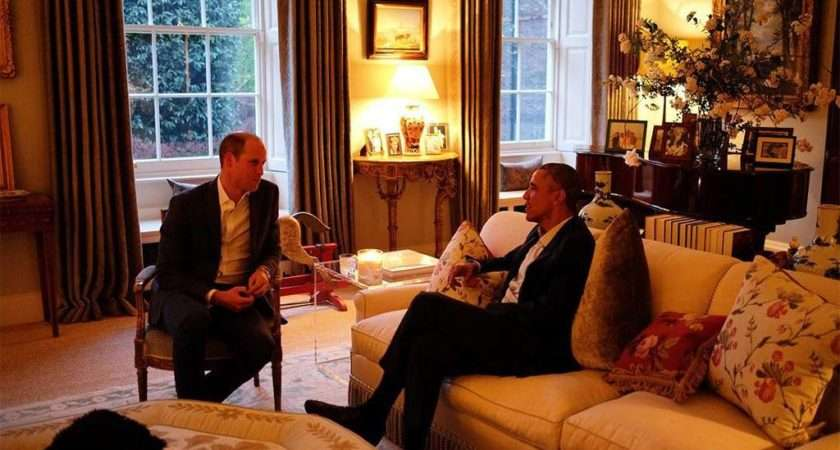 Kate Middleton Prince William Host Obamas