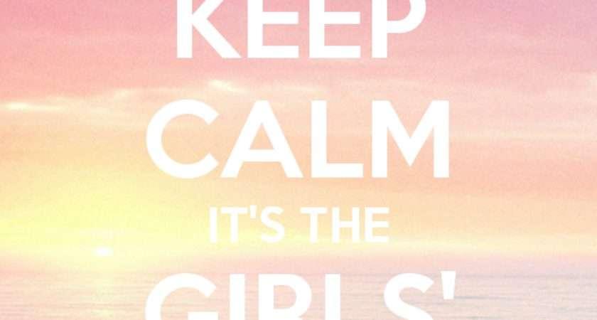 Keep Calm Girls Room Poster Matic