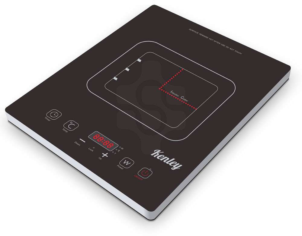 Kenley Electric Digital Induction Hob Portable Cooker Hot Plate Led