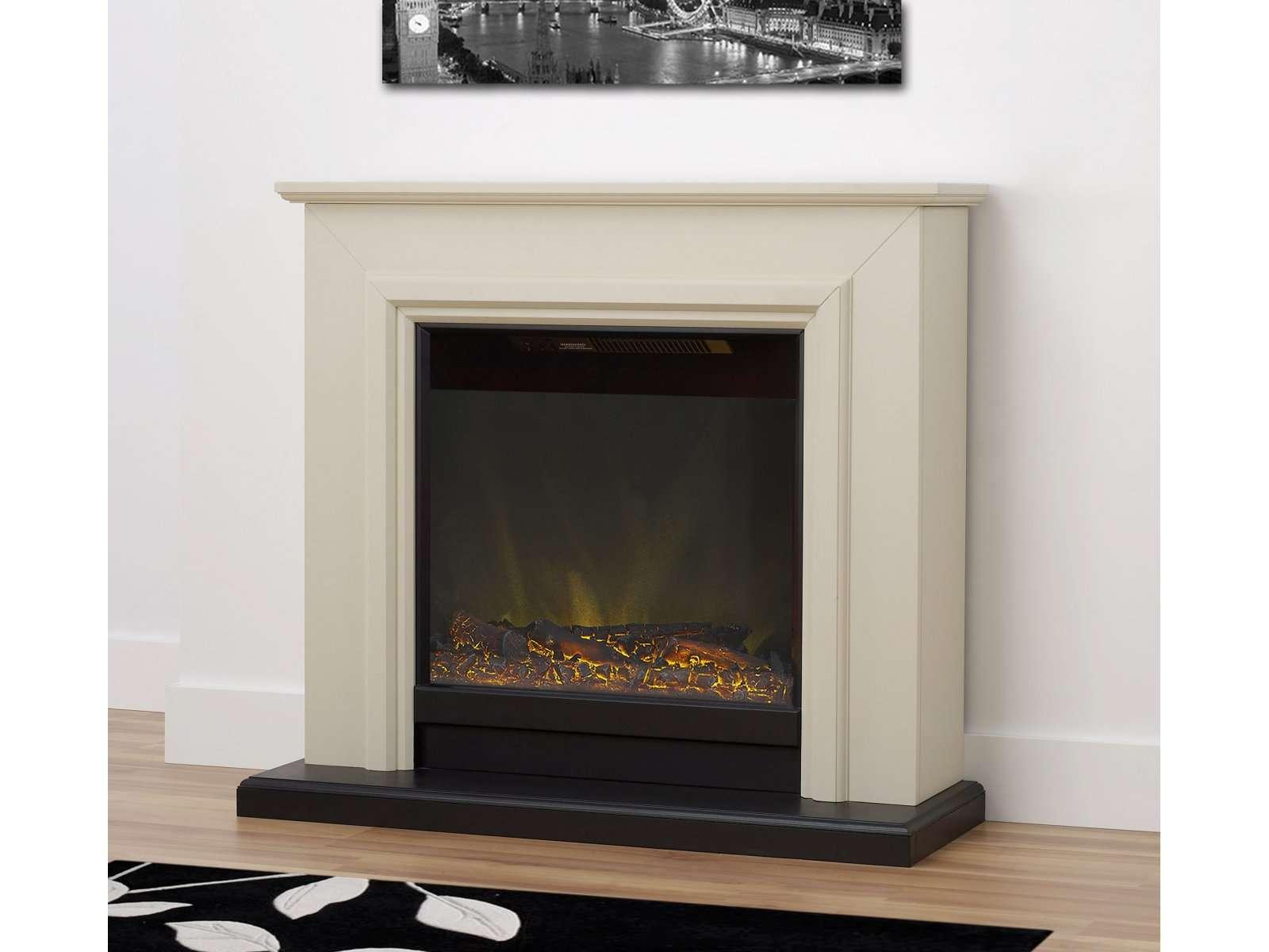 Kensington Fireplace Suite Stone Effect Inch World