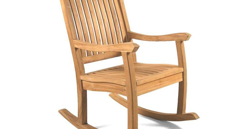 Kensington Teak Rocking Chair Grade Furniture