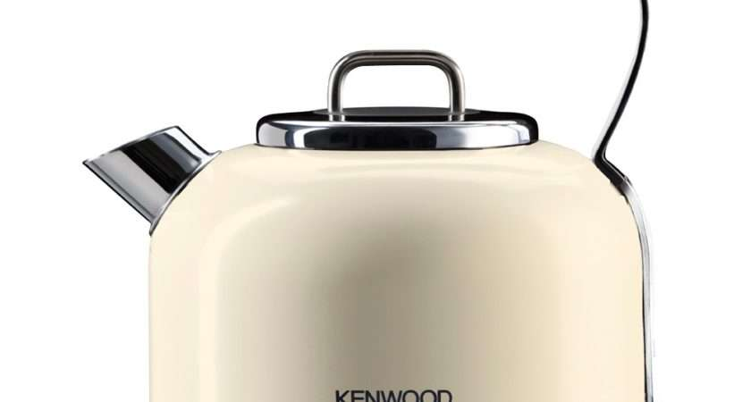 Kenwood Kmix Kettle Cream Stainless Steel