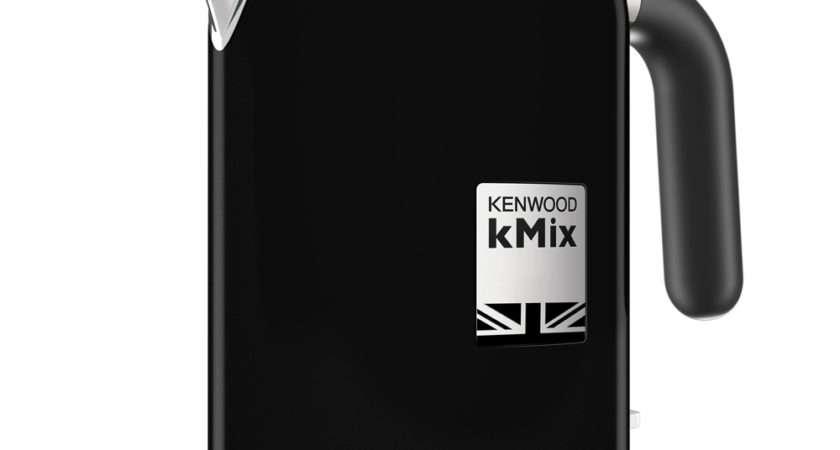 Kenwood Kmix Rich Black Kettle Peter Kensington