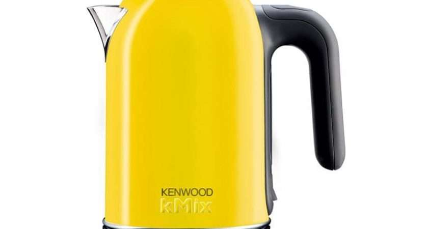 Kenwood Yellow Kmix Jug Kettle Sjm