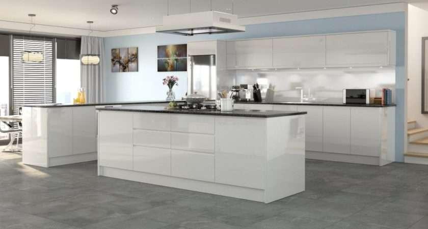 Kichen Doors Slab Style Kitchen Cabinet