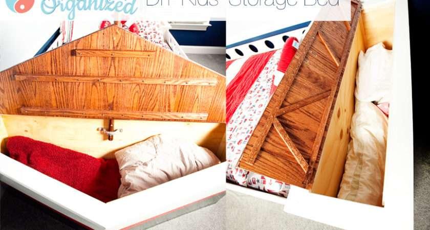 Kids Bed Storage Hidden Diy Bedroom Ideas