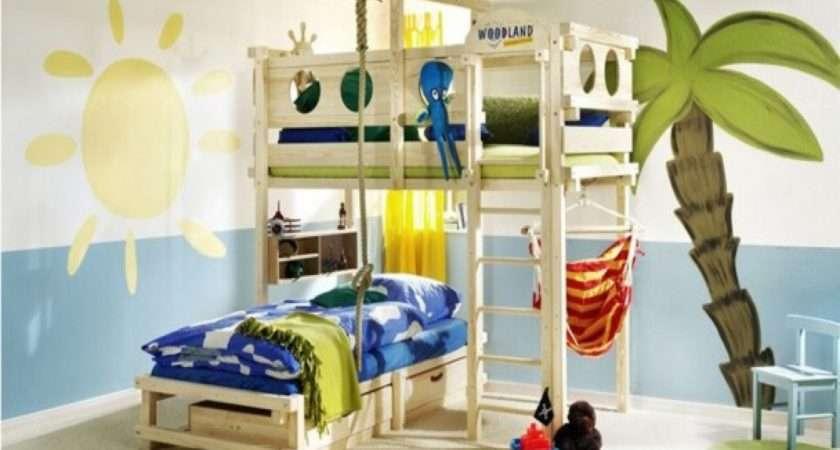 Kids Bedroom Ideas Fancy Wood Bed Level