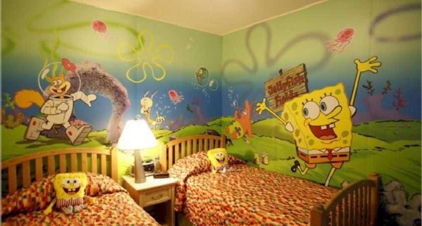 Kids Bedroom Spongebob Boy