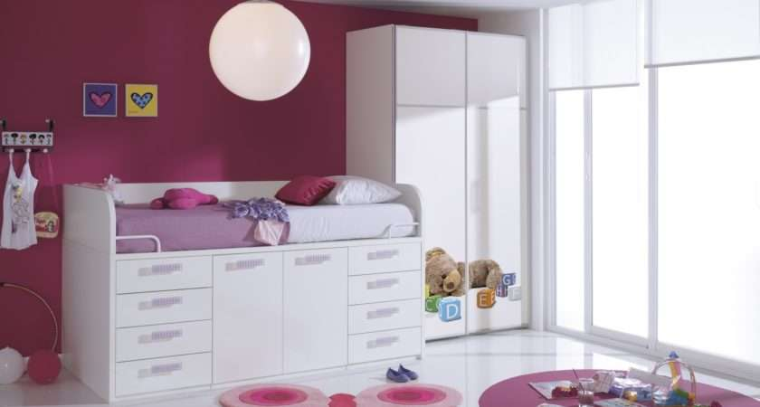 Kids Beds Bunk Childrens Cabin Trundle Guest