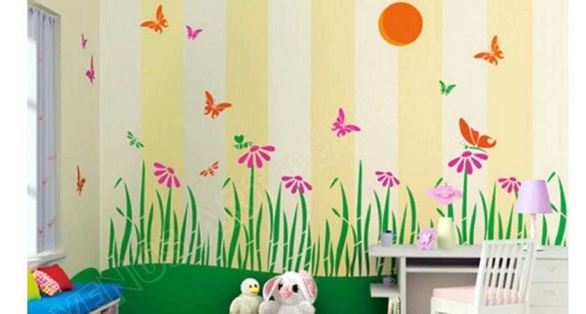 Kids Design Room Paint Wall Ideas Decoration Painting