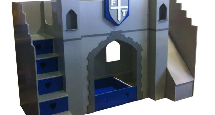 Kids Knight Castle Bed Designer Beds Childrens