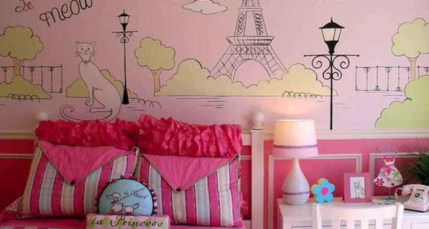 Kids Paris Room Ideas Parisian Bedroom