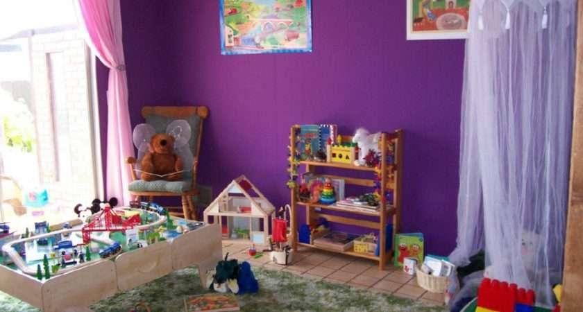 Kids Room Boys Simple House Design Wall Art Painting