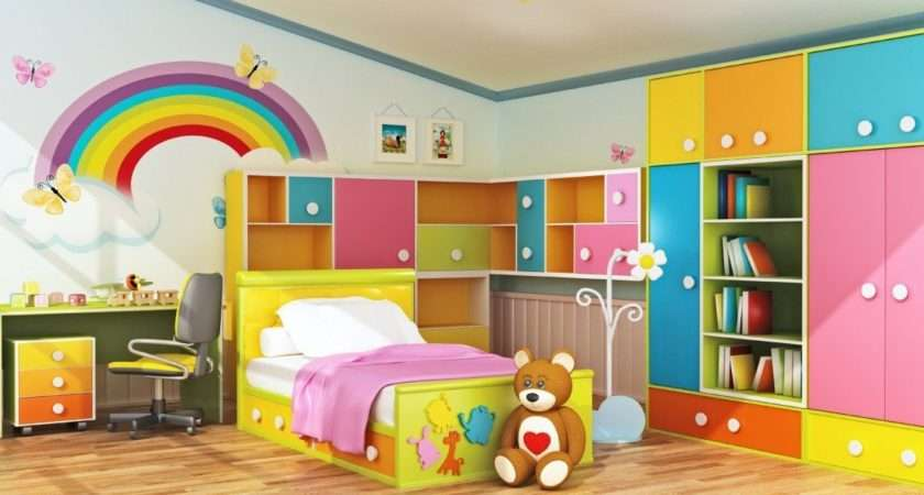Kids Room Design Simple Theme