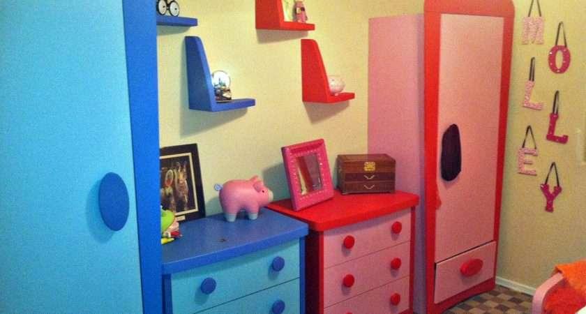 Kids Room Designs Nice Blur Red Double Ikea Wardrobe