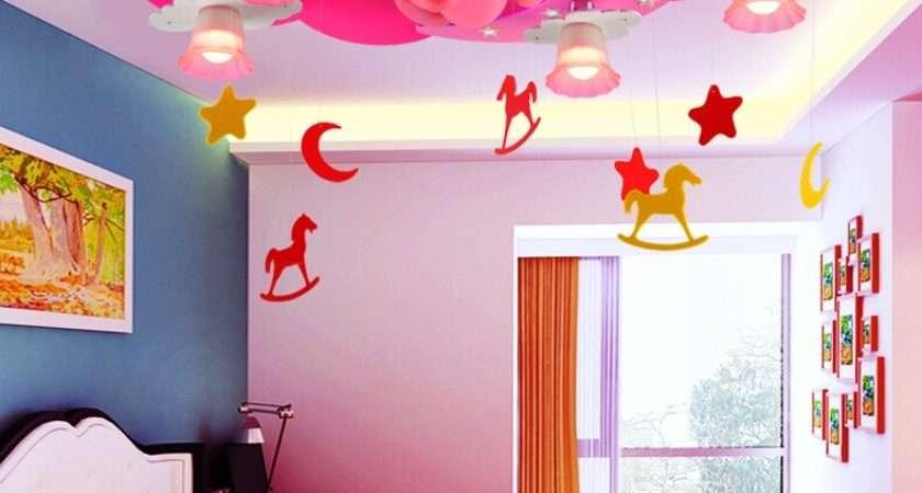 Kids Room Different Lighting Sample Ideas