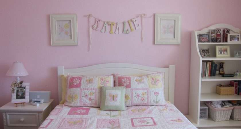Kids Room Pink Girl Paint Ideas Cute Colors