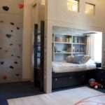 Kids Rooms Climbing Walls Contemporary Schemes