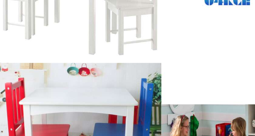Kids Table Chairs Set Childrens Furniture Colourful