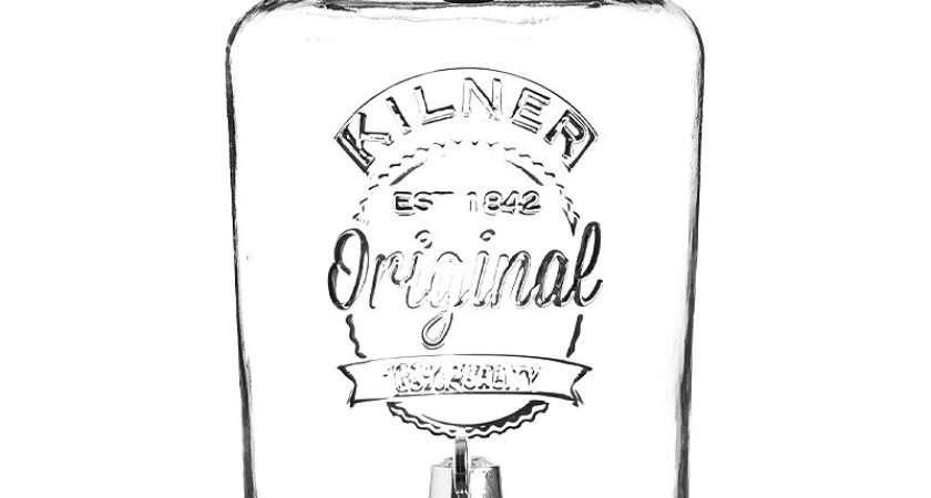 Kilner Garden Party Glass Water Punch Drinks Dispenser