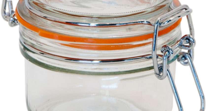 Kilner Glass Preserving Jar Clip Top Lid
