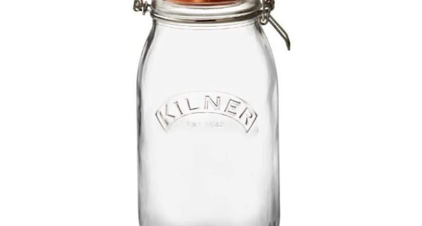 Kilner Round Clip Top Jar Litre