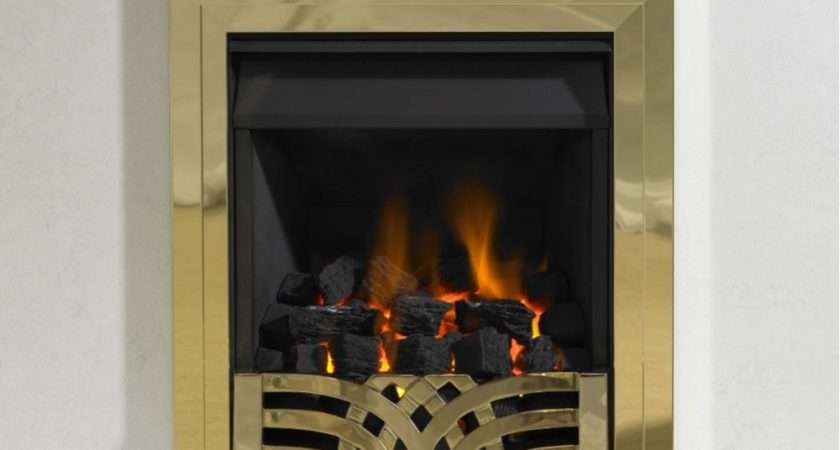 Kinetic Inset Open Fronted Slide Control Gas Fire Class