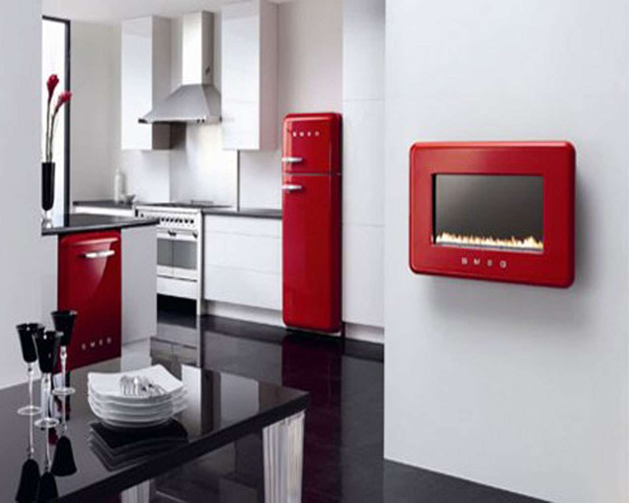 Kitchen Appliances Comments Off Red