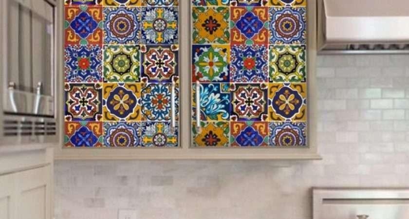Kitchen Bathroom Backsplash Tile Wall Stair Decal Mexican