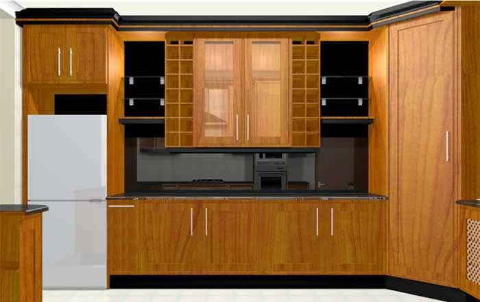 Kitchen Built Cupboards