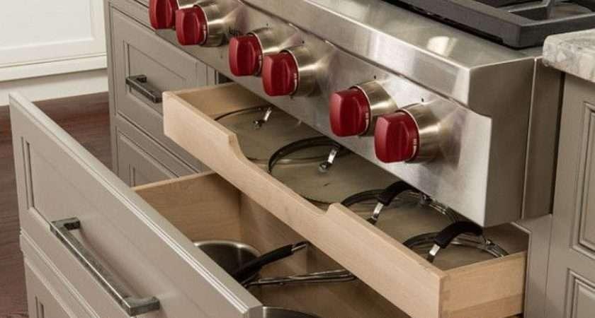 Kitchen Cabinet Storage Pinterest