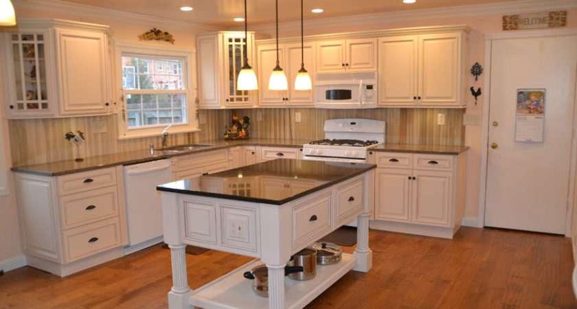 Kitchen Completed Ridgeline Ivory