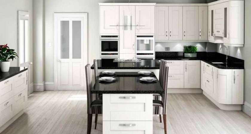 Kitchen Country Living Kitchens Design Modern Shaker White
