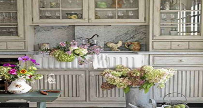 Kitchen Country Living Kitchens Flowers