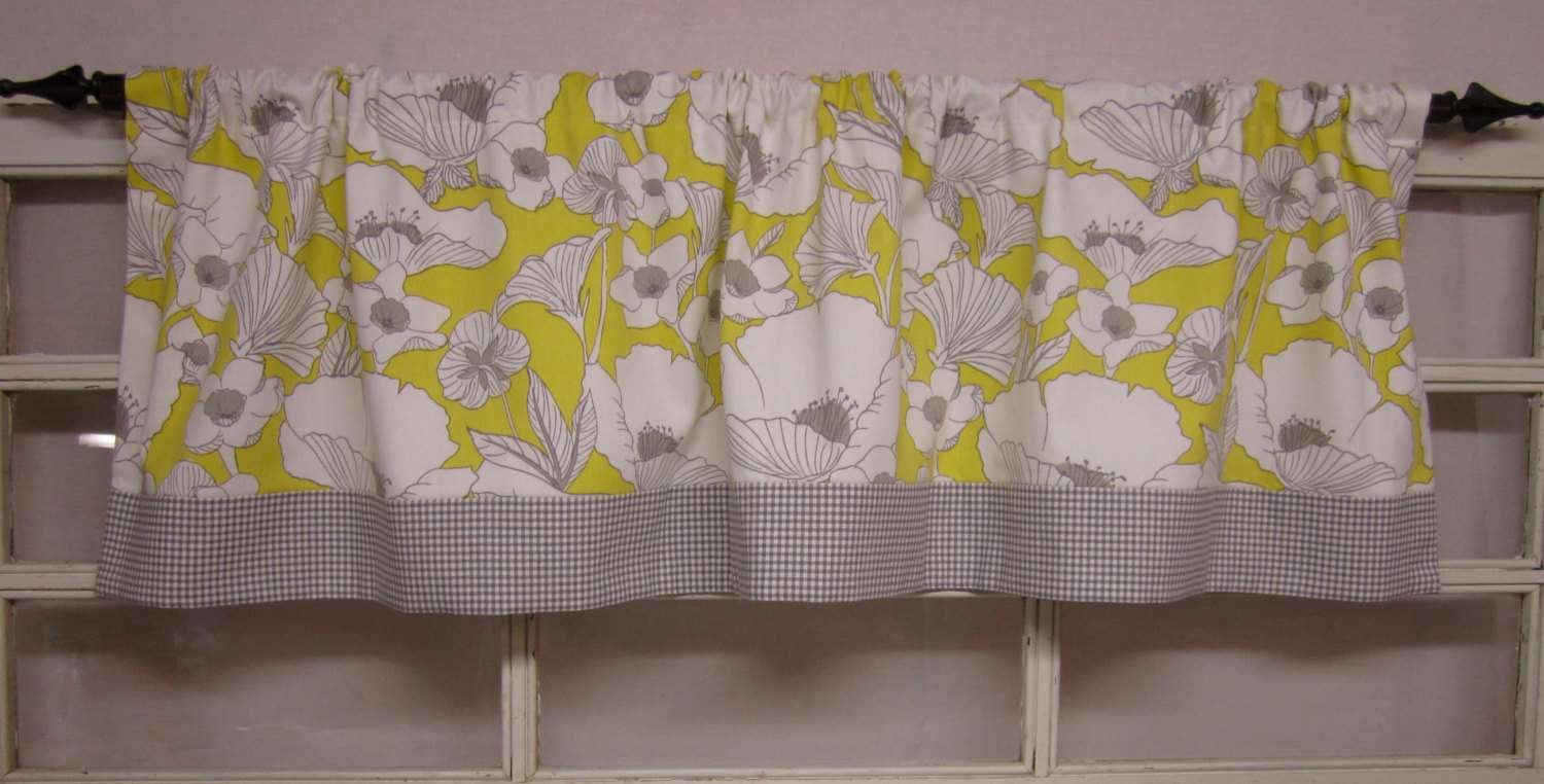 Kitchen Curtains Window Valance Runningwithribbons
