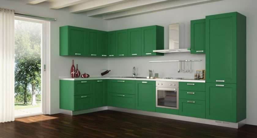 Kitchen Decorating Lime Green Orange Bright