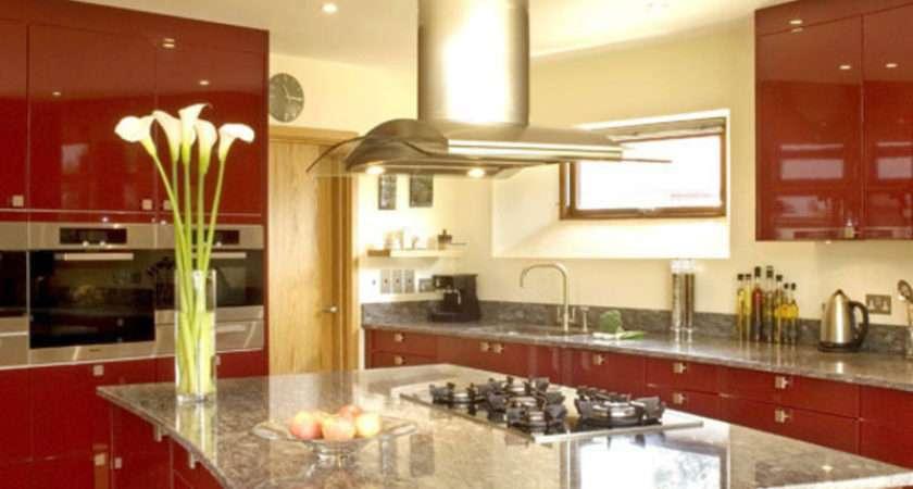 Kitchen Decoration Modern Architecture Concept