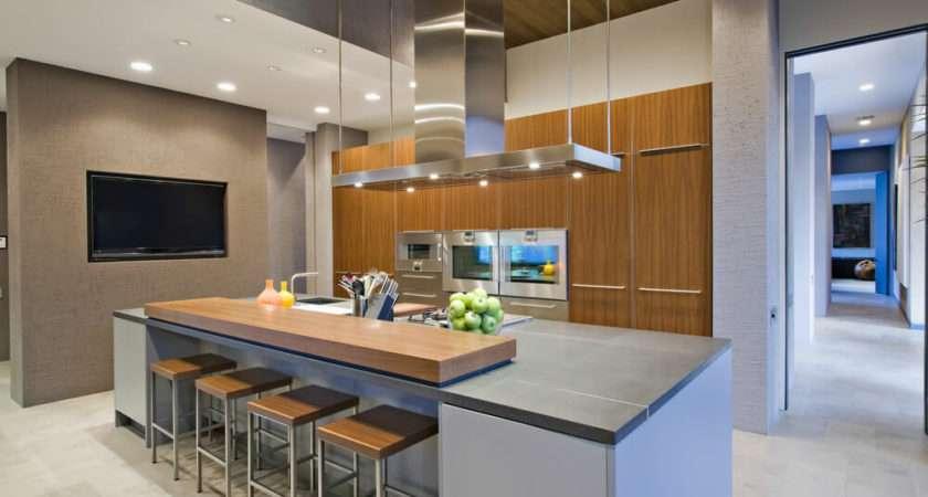 Kitchen Design Island Echoing Entire Incorporating