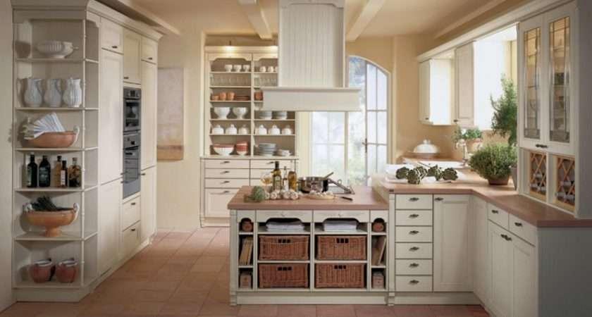 Kitchen Designs Extravagant Country White