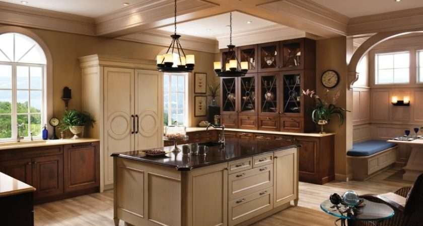Kitchen Designs Wood Mode New American Classics Design