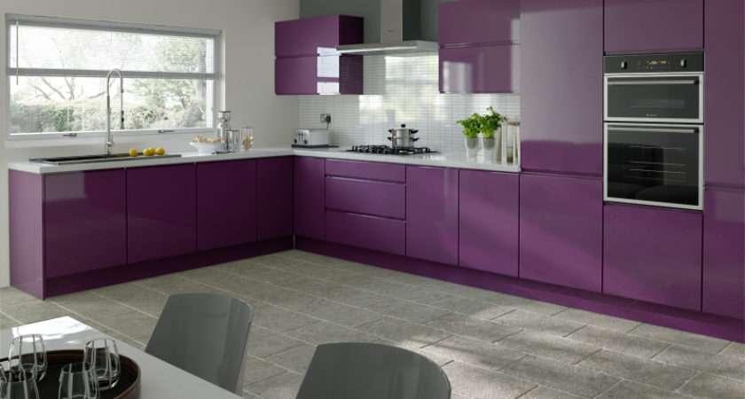 Kitchen Door Workshop Trends Ringmer Aubergine High