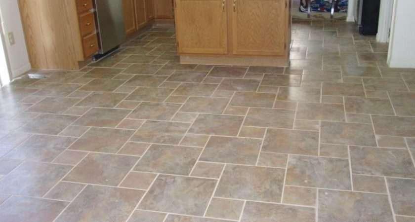 Kitchen Flooring Options Different