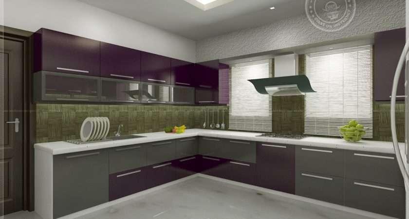 Kitchen Interior Views Architects Cochin Kerala