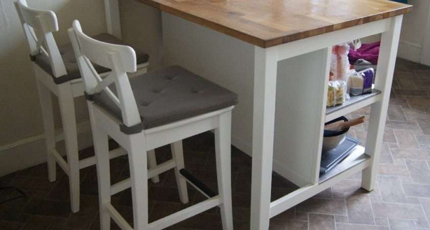 Kitchen Island Breakfast Bar Stools Ikea Stenstorp