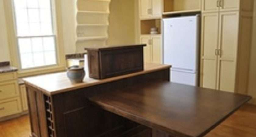 Kitchen Island Table Combination Extension