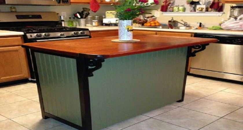 Kitchen Island Table Diy Small