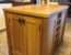 Kitchen Island Unit Made Solid Oak