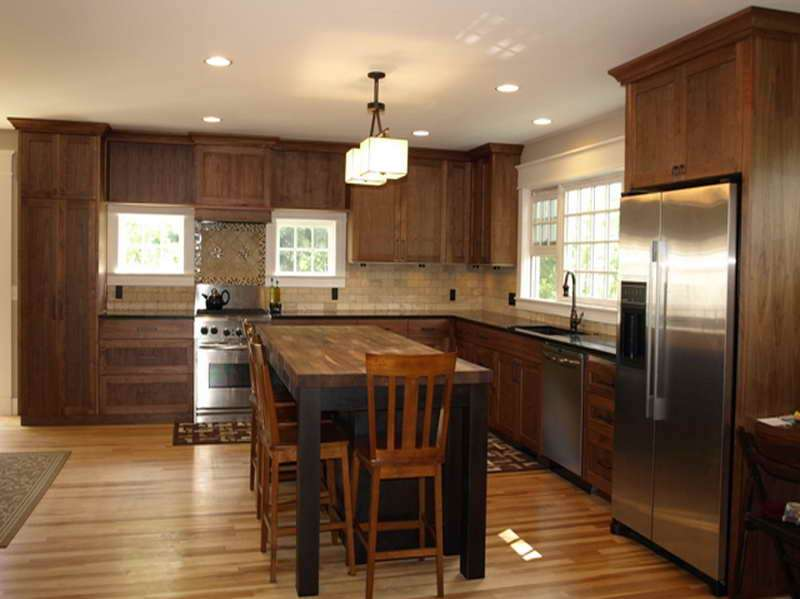Kitchen Island Wood Countertop Tables