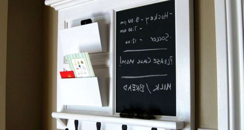 Kitchen Message Board Organizer Small